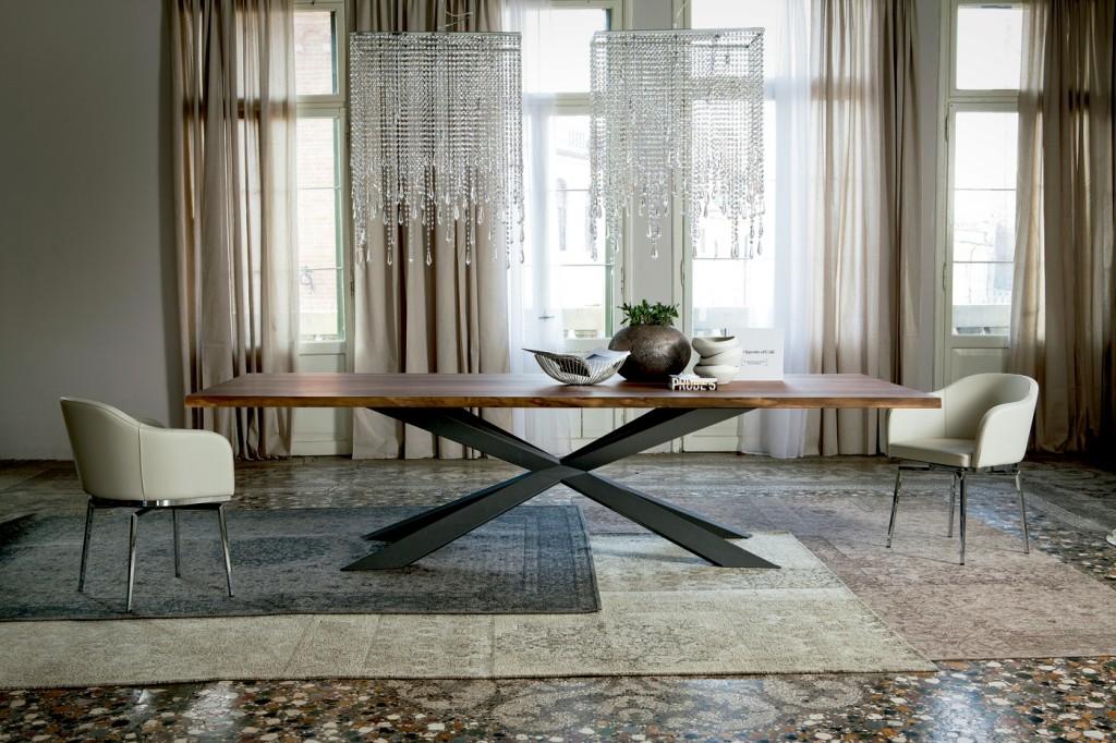 Nueva mesa Spyder Wood 2012 en madera