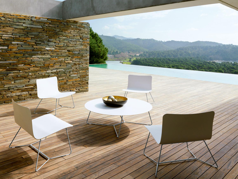 Jardines urbanos muebles de dise o para exterior for Mesa exterior diseno