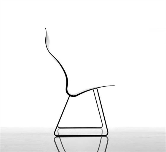 Sillas de comedor minimalistas ergon nomos for Sillas minimalistas para comedor