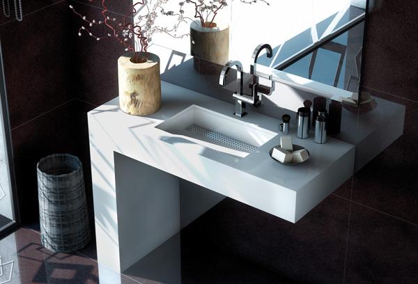 nuevos modelos de lavabos integrados con encimera silestone