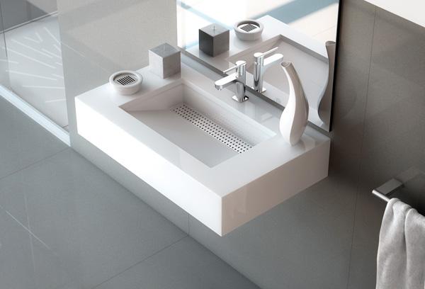 Nuevos modelos de lavabos integrados con encimera silestone for Encimera para lavabo