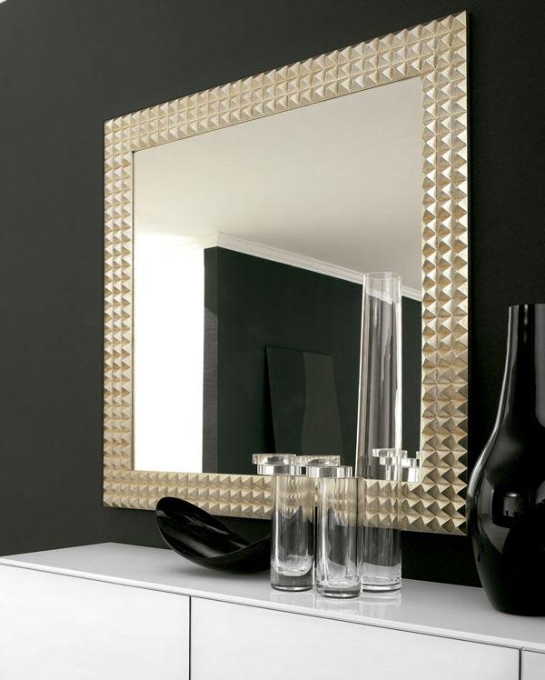 Modelos de espejos modernos ideales para el sal n - Espejos modernos salon ...