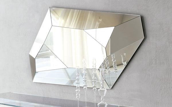 Modelos de espejos modernos ideales para el sal n for Espejos horizontales para salon