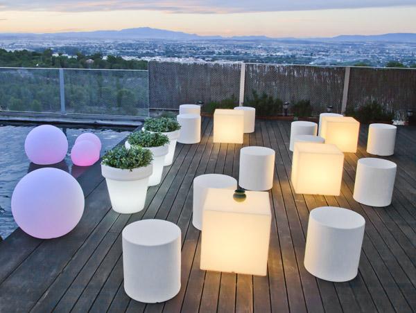 Bolas con luz New Garden
