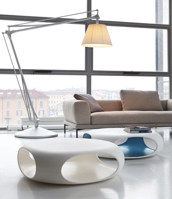 Mesa baja Pebble de Bonaldo en la tienda online