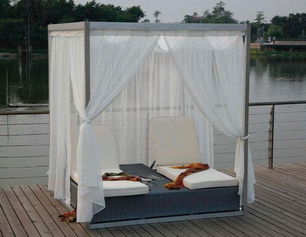 Un estilo diferente en muebles de jard n con majestic garden - Tumbona exterior ...