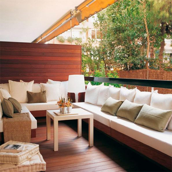 Terrazas urbanas para el oto o for El mueble terrazas