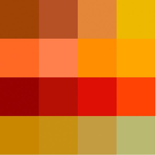 Pinturas valentine paleta colores trendy carta de color - Color ocre paredes ...