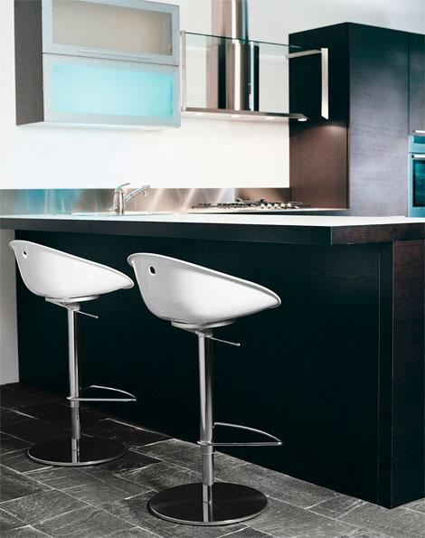 Gu a de decoraci n con taburetes de cocina blog ociohogar - Taburetes de cocina modernos ...