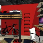Proyecto industrial étnico habitación Daniel