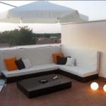 Diseño y montaje de Chillout para terraza en vivienda