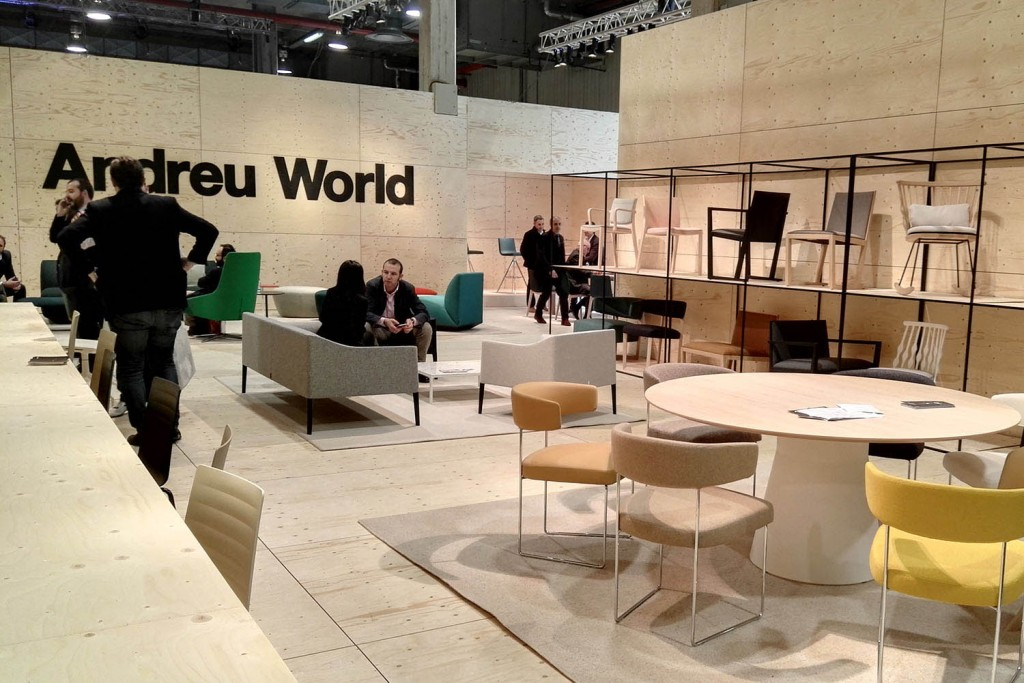 Showroom Andreu World