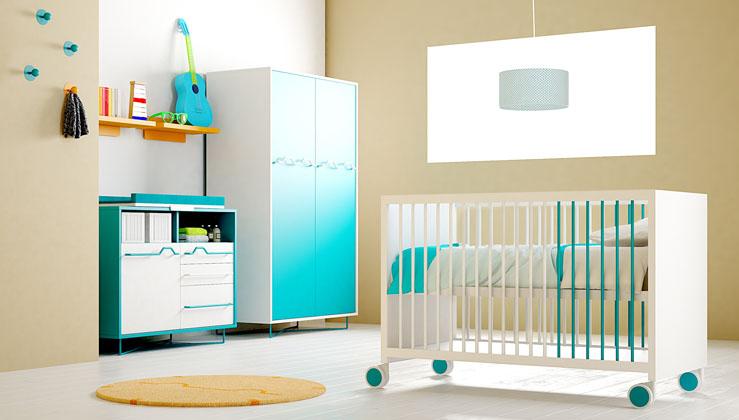Dormitorios infantiles. Bebés