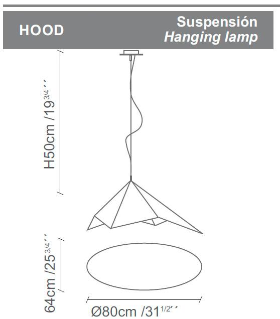 Diagrama lámpara Hood de Almerich