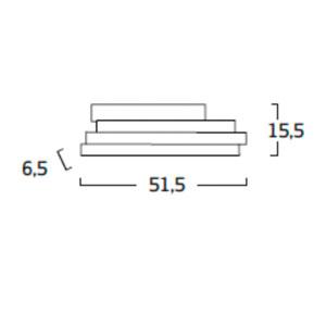 Diagrama aplique de pared Li LI06 de Arturo Álvarez