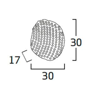 Diagrama aplique de pared Tati TA06 mediano de Arturo Álvarez