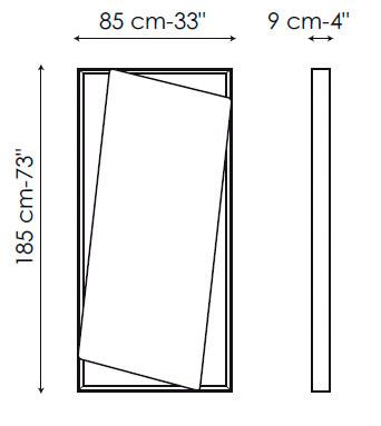 Diagrama espejo de diseño Hang up de Bonaldo