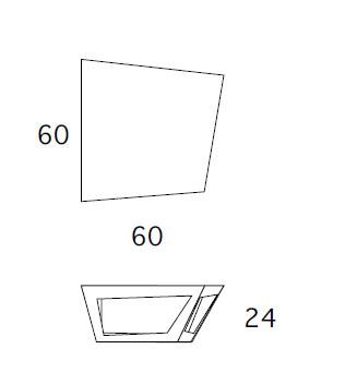 Medidas mesa de centro para exterior Elc BYSTEEL