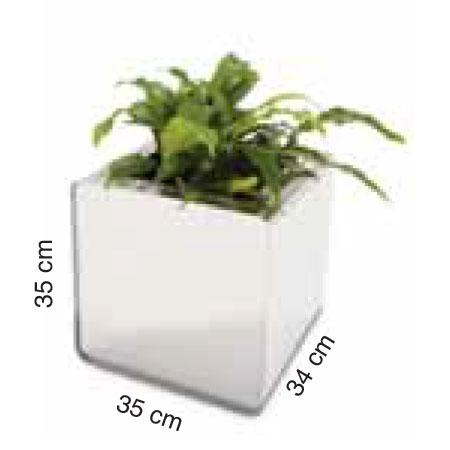 Diagrama de medidas maceta Prisma pequeña