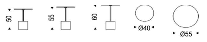 Diagrama mesa de centro Axo de Cattelan Italia