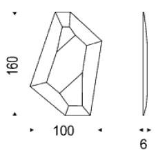 Diagrama de espejo de diseño Diamond de Cattelan Italia