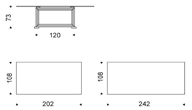 Medidas mesa 6 personas elegant medidas mesa comedor - Medidas de mesa de comedor ...