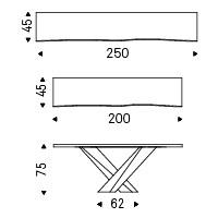 Tamaños posibles para consola Stratos