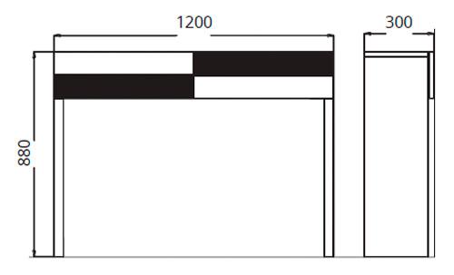 Diagrama consola Temaa de Clara Home