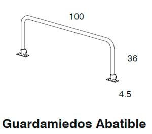 Diagrama guardamiedos Block de Dissery