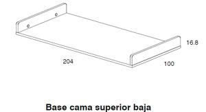 Diagrama cama Coral de Dissery