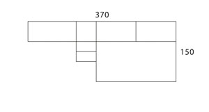 Diagrama dormitorio infantil Coral de Dissery