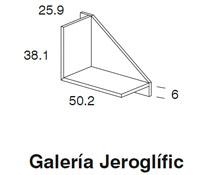 Diagrama galería Jeroglific pequeña de Dissery