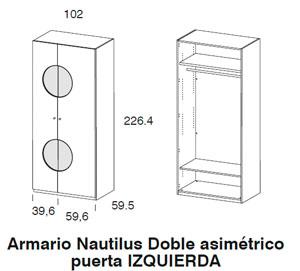 Diagrama armario Nautilus de Dissery