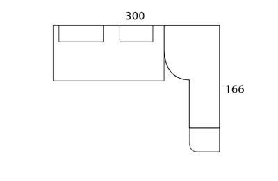 Diagrama plano dormitorio Red de Dissenia