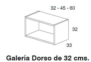 Diagrama galería Dorso 32x32 cm de Dissery
