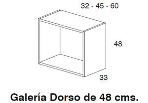 Diagrama galería Dorso 48x32 cm de Dissery
