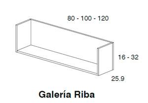 Diagrama galería Riba de Dissery