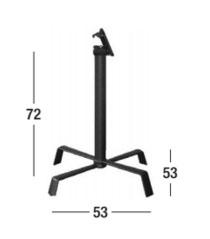 Dimensiones de las patas mesa Tonik