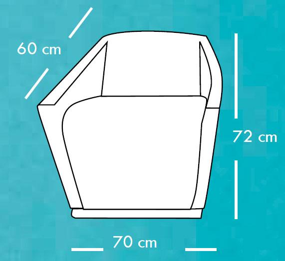 Diagrama sillón Reviv de Apyou