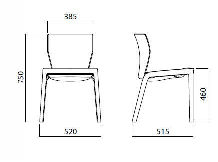 Diagrama silla Bi de Infiniti