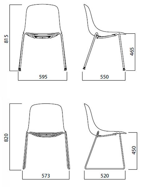 Diagrama silla Pure Loop de Infiniti