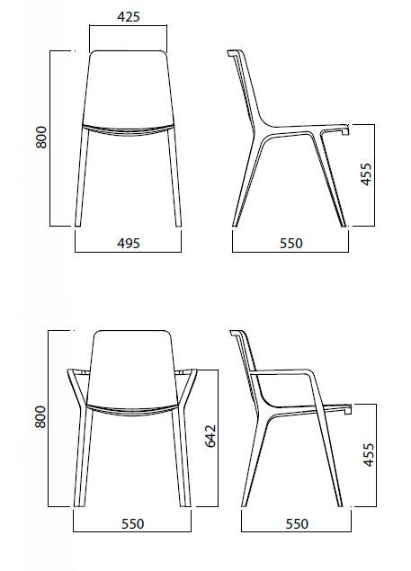 Diagrama silla Seame de Infiniti