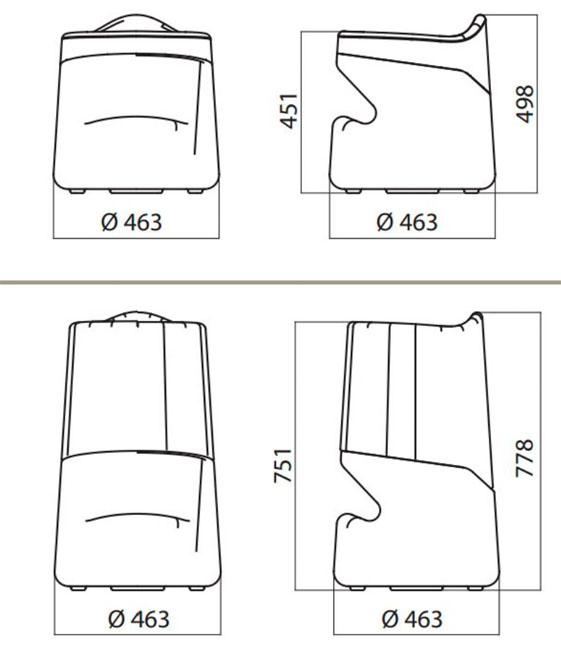 Diagrama taburete Broncio de Infiniti