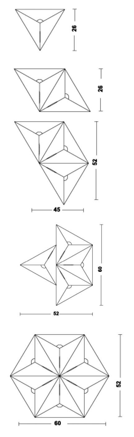 Medidas lámpara Vega
