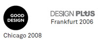 Good Design Award 2008 y Design Plus 2006