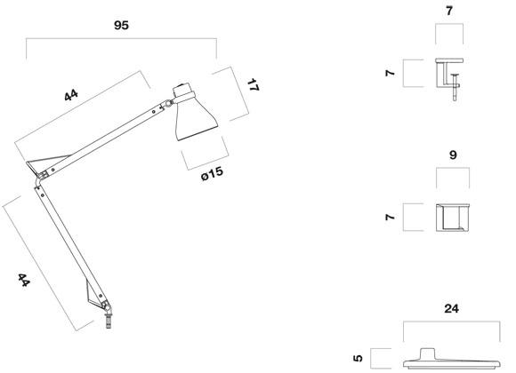 Diagrama de Medidas flexo Oslo de Metalarte