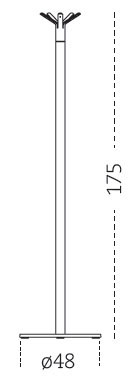Medidas perchero Hulot Mobles 114