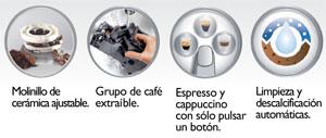 Características Saeco Syntia Cappuccino