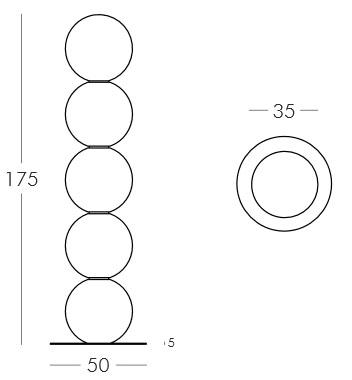Diagrama lámpara Pearl de Slide