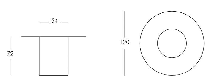Diagrama mesa Arthur de Slide